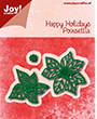 31250 - Happy Holidays - Poinsettia (kerstster)