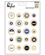 5010151 - Wood button stickers