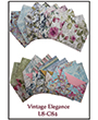 1032084 - 8 precut cards and matching envelopes - Vintage Elegance