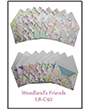1032092 - 8 precut cards and matching envelopes - Woodlands Friends