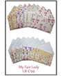 1032094 - 8 precut cards and matching envelopes - My Fair Lady